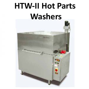 HTW - II Hot Water Parts Cleaning System