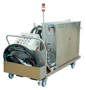 RWR Pipe and Waterway Cleaning System