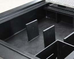 Clean Box Flex drain tray